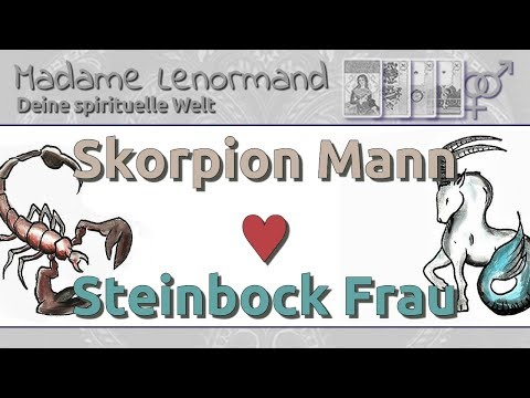steinbock frau und skorpion mann passt
