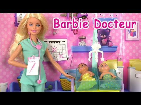 Barbie Baby Doctor ♥︎ Switched Babies at the Hospital ♥︎ Dolls Story