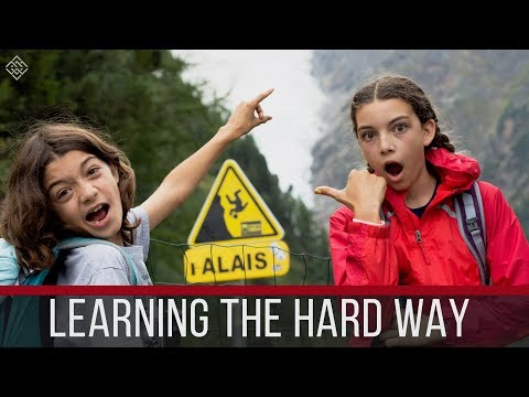 Homeschooling on the Road | Chamonix, France | Motorhome Europe