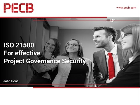 ISO 21500 for effective Project Governance Security