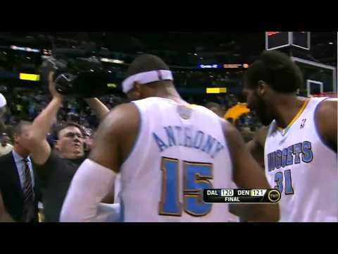 Arron Afflalo game winner vs. Mavericks (Feb. 10, 2011)