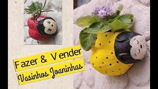 Aprenda a Fazer Vasinho de Joaninha