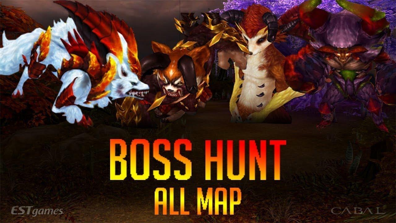 Cabal Online Titan Minisha Hunt Compilation!