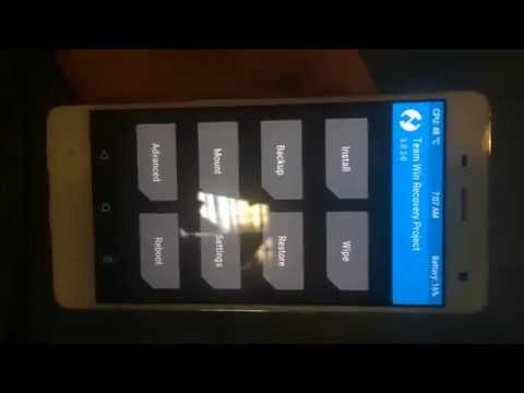 Twrp recovery for zenfone go