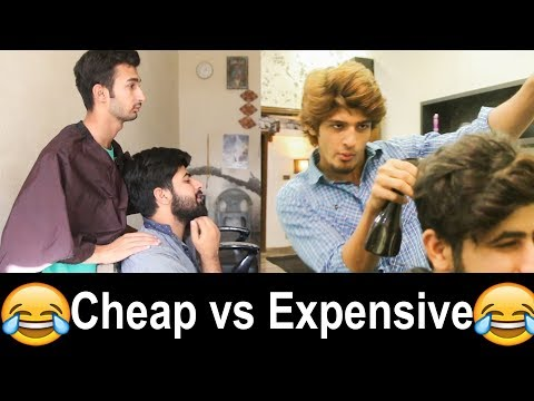 Cheap vs Expensive Barber in Pakistan | Funny Video
