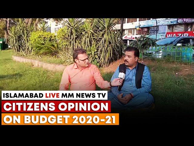 Dr. Zahid Khan Opinion On Budget 2020-21