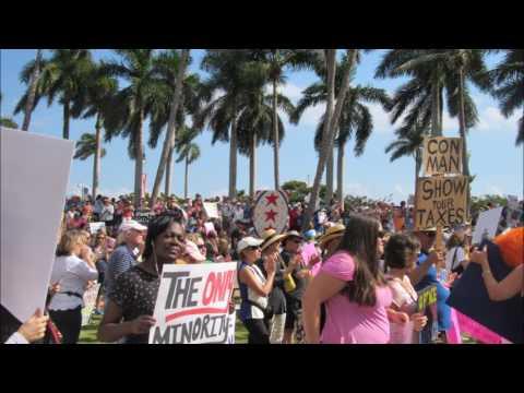 Women's March West Palm Beach Jan 21 17