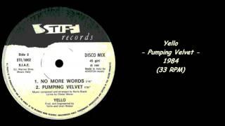 Yello - Pumping Velvet - 1984 (33 RPM)