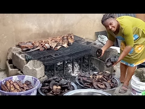 RE-Drying  All Fish For Shipping, Chat Me On +2348036057663
