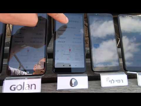 Israeli SIM Card Internet Speed Test In Jerusalem