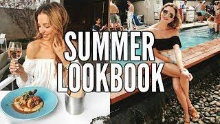 Summer Lookbook 2017 | Summer Fashion Outfit Ideas | Dani Austin