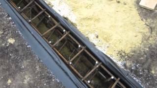 Вязка арматуры 16 мм под фундамент(Залили небольшой фундамент 15 п.м Применялась арматура 16 мм , бетон М 200, Вибратор для упресовки бетона, опалу..., 2012-11-26T14:47:47.000Z)