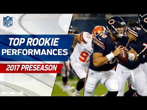 Top Rookie Performances of 2017 Preseason | NFL Highlights