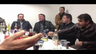 Hüseyin Cayan Mehmet Tak  cok süper Muhabbet  Ulm 01. 2013