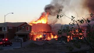 5 houses in Las Vegas burned in less than 10 mins