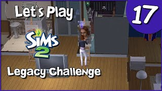 Let's Play The Sims 2 Legacy Challenge #17 - Making Friends and Painting Portraits