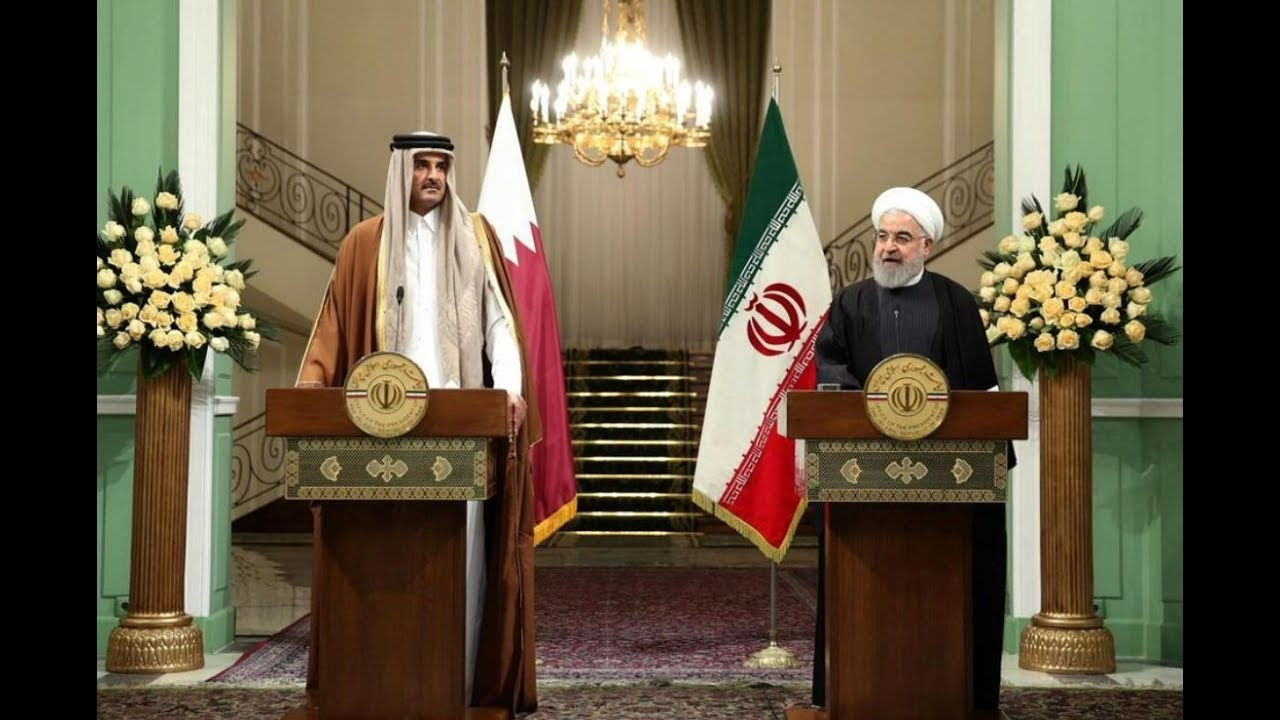 Qatari emir in Iran: 'De-escalation is the only solution'