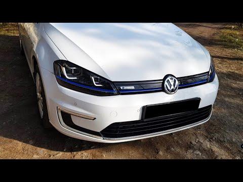 Volkswagen E-Golf Обзор и Тест Драйв! Реальный запас Хода!