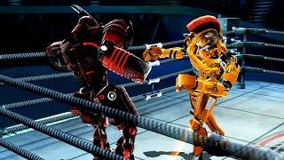 REAL STEEL WRB Cardinal Chaos VS Tackle & Noisy Boy & Midas & Aquabot