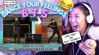 Download lagu DAY 6: BTS WEEK ON FALLON - 'BE' ALBUM INTERVIEW + DANCE YOUR FEELINGS The Tonight Show 📺💜 REACTION