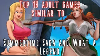 10 adult games like Summertime Saga. 10 best cartoon style adult games you have to try