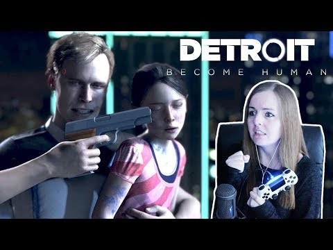 DON'T HURT HER!! | Detroit Become Human PS4 Demo Gameplay!