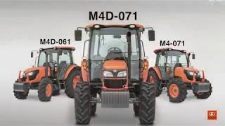 Kubota M4 Feature Overview