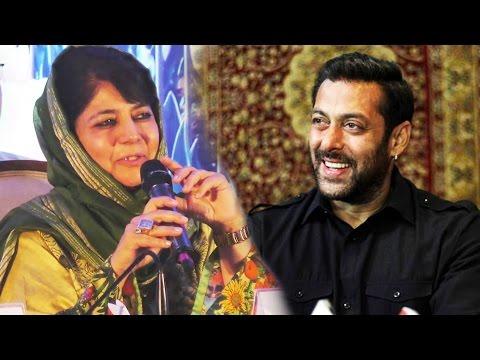 J&K CM Mehbooba Mufti Wants Salman Khan To Promote Kashmir