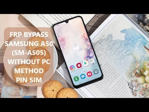 Method 2 Bypass FRP Google Account Samsung A50 SM-A505