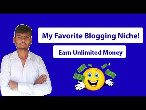 My Favorite Blogging Niche! | Earn Unlimited Money In 2019
