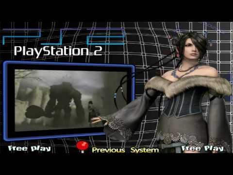 Custom Hyperspin Main Menu Theme Playstation 2
