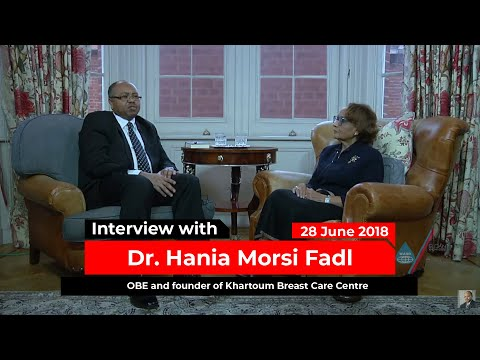 Interview with Dr. Hania Morsi Fadl - OBE (Order of The British Empire)