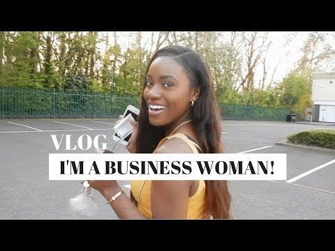 OFFICIALLY A BUSINESS WOMAN - VLOG 3 | Starting a new business | Jade Vanriel