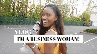 OFFICIALLY A BUSINESS WOMAN - VLOG 3 | Jade Vanriel
