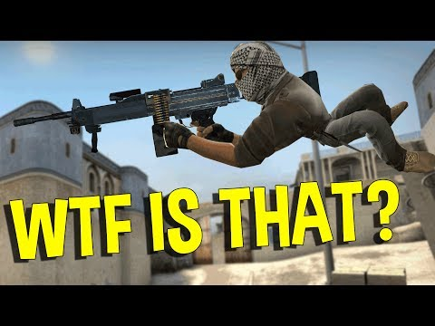 CS:GO WTF IS THAT HACK?  (OVERWATCH FUNNY MOMENTS)
