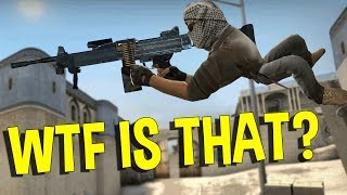 CS:GO WTF IS THAT HACK?  (OVERWATCH FUNNY MOMENTS) thumbnail