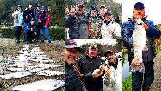 Супер рыбалка с друзьями Активный отдых рыбалка и путешествия