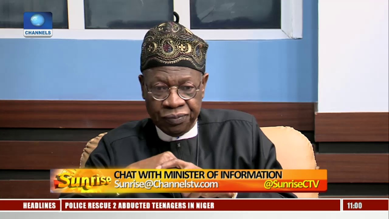 Lai Mohammed Explains 'Real' Reasons Behind Recent Defections From APC Pt.2  Sunrise 