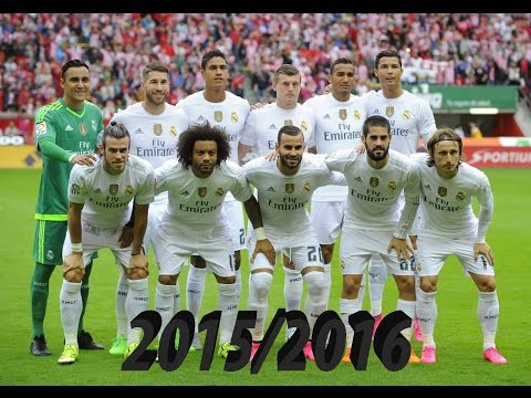 Real Madrid | All 152 goals: 11 Unofficial and 141 Official - 2015/2016 | HD