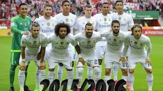 Real Madrid  All 152 goals 11 Unofficial and 141 Official - 20152016  HD