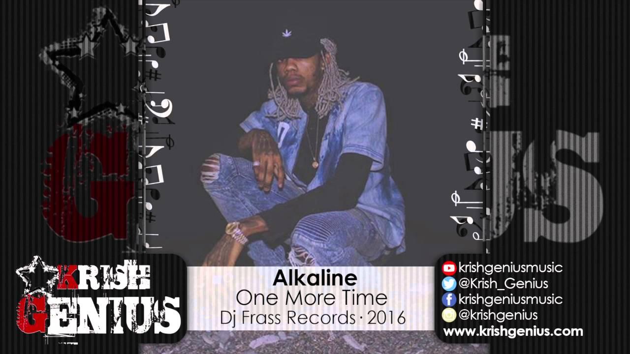 Download Alkaline - One More Time (Raw) All Inclusive Riddim | @Krishna Davis