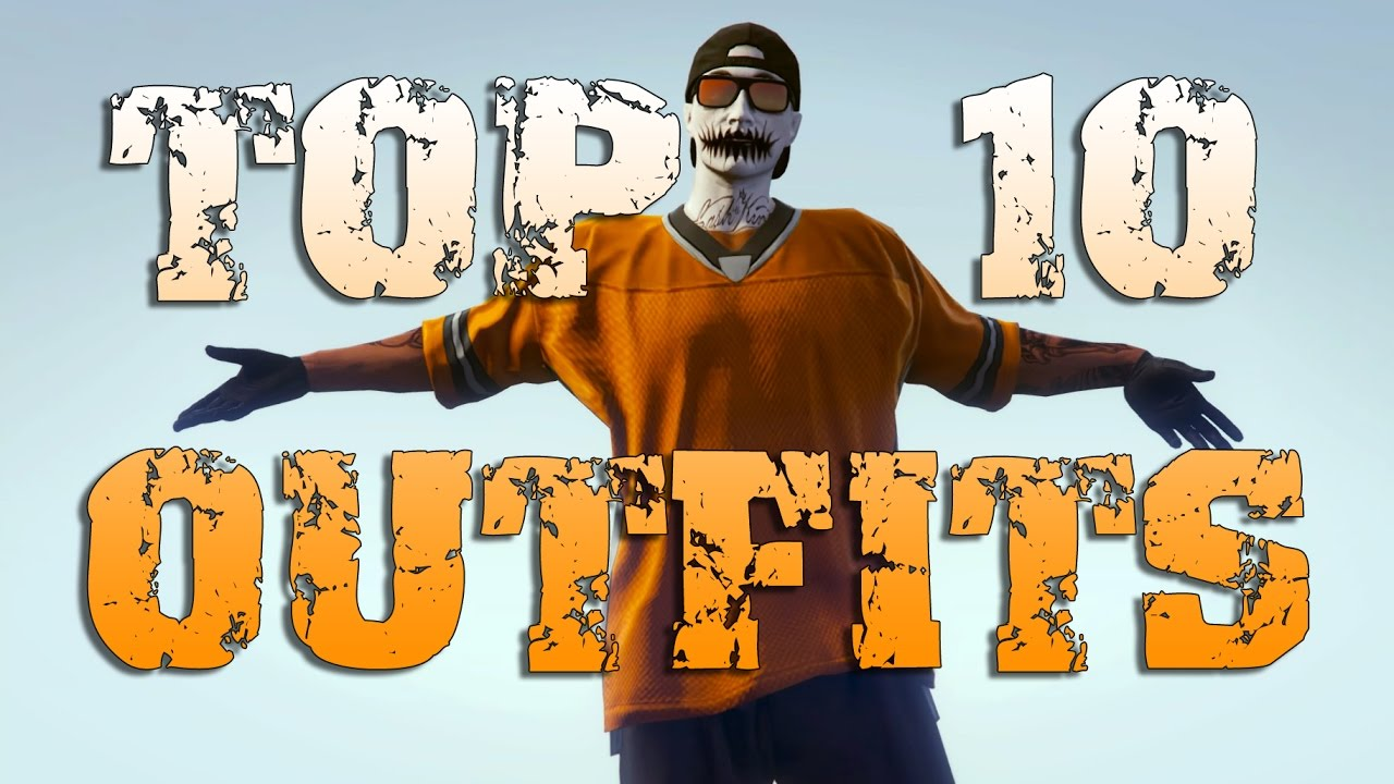 MY TOP 10 OUTFITS! #2 - GTA 5 Online - YouTube