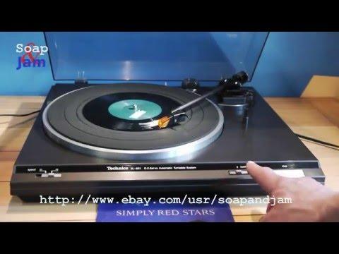 Turntable Record Player Technics SL-B21.