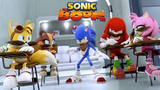Sonic Boom | 〰️ Moustaches party 〰️ | Dessin animé