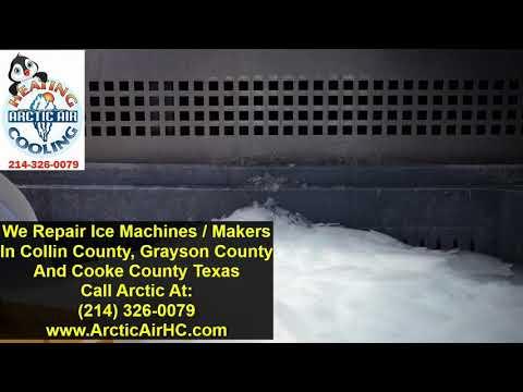 Ice Machine And Ice Maker Repair - McKinney, Allen, Frisco, Plano, Sherman, Gainesville And Nearby - Видео онлайн