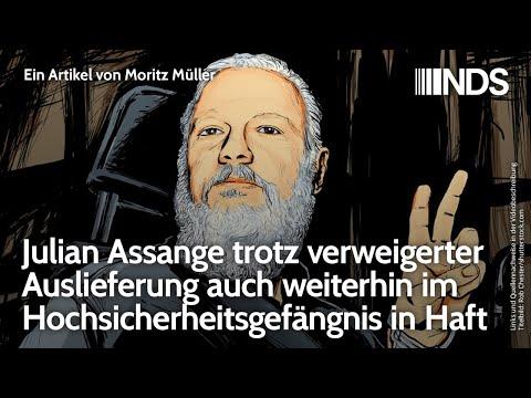 Julian Assange trotz verweigerter Auslieferung weiterhin im Hochsicherheitsgefängnis in Haft; 7.1.21