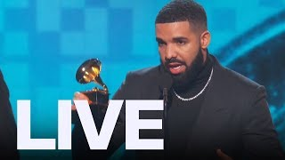 Drake Reacts To Being Cut Off At Grammys | ET Canada LIVE