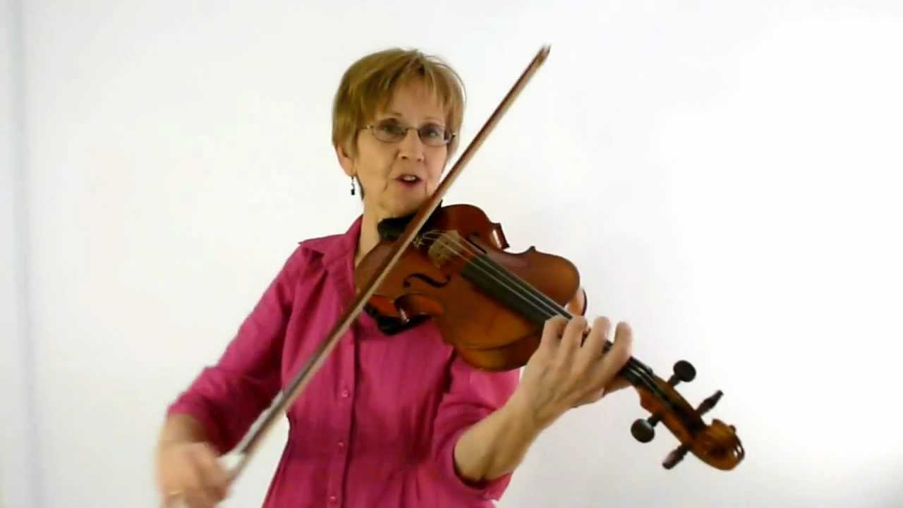 Violin Class 61A: Bourree by Bach, first half
