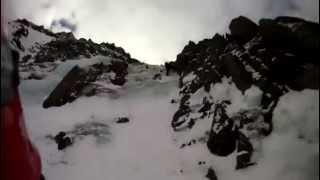 POV: Terrifying Slide Down Icy Mountain