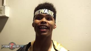 Shakur Stevenson 'Sergey Kovalev will get tired and break down!